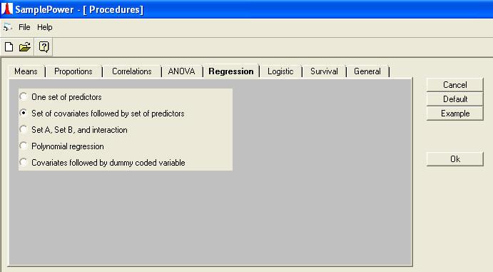 Sample Power Data Analysis Examples Multiple Regression Power – Sample Data Analysis
